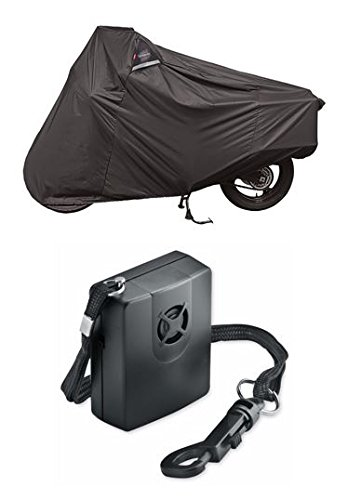 Guardian By Dowco - WeatherAll Plus Motorcycle Cover - Adventure Touring with Dowco's Integrated 130 Decibel Alarm System (Weatherall Motorcycle Plus Cover)