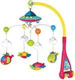 Surreal Baby Musical Cot Mobile with Starlight Projection