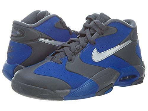Air Up '14 s Basketball Shoes Grey/Silver/Royal Blue