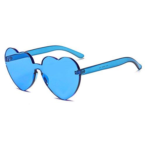 UV400 Lunettes Couleur Intégré juqilu Coeur Bonbons Coeur De C5 Sunglasse Soleil UV Shades nzYqqwdt