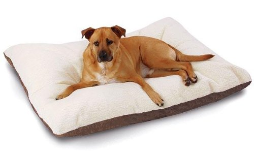 Large 45″X30″ Fleece Memory Mix Foam Dog Pet Bed Pillow with 2 layer cover, My Pet Supplies