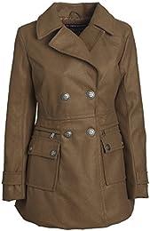 Amazon.com: Brown - Wool & Pea Coats / Coats Jackets & Vests