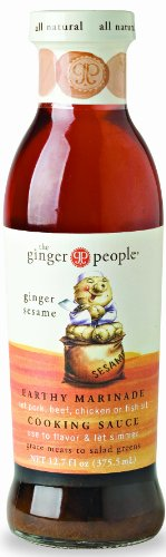 (GINGER PEOPLE SAUCE GINGER SESAME, 12.7 OZ)