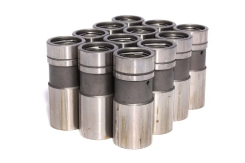 COMP Cams 832-12 High Energy Hydraulic Lifter for 289-351W/351 Cleveland and 429 460 Big Block Ford, (Set of 12)