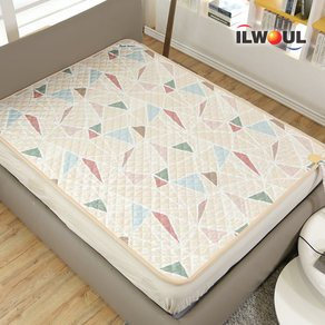 Ilwoul Dual Heart Electric Warm Water Heating Mat [Double: 79in X 57in]