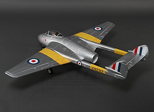 Hobbyking - Durafly? D.H.100 Vampire Mk6 EDF Jet w/retracts 1100mm (PNF)