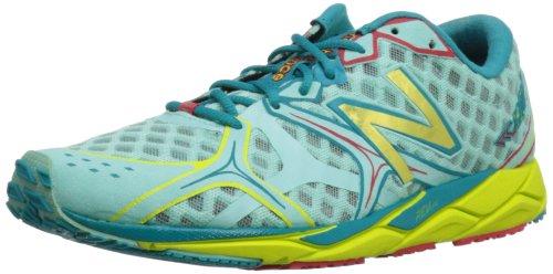 New Balance Women's 1400V2  Running Shoe,Blue/Yellow,11 B US
