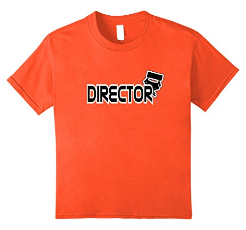 Kids Director Lights Camera Action Cut Chair Movie Play T-Shirt 8 (Youth Director Chair)