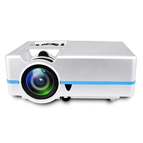 GAO Mobile Phone Smart Projector Micro Mini Projector Projector Home,Silver