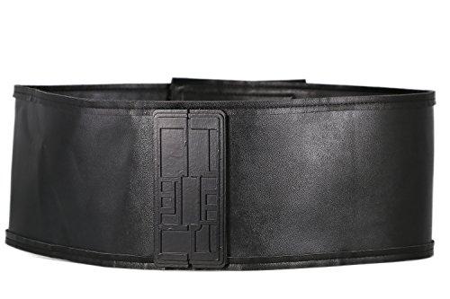 Kylo Ren Belt Buckle Cosplay Deluxe PU Black Accessory for Men Xcoser 110