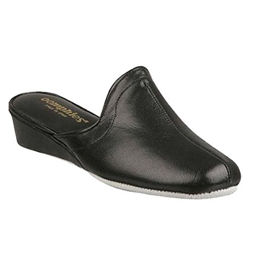 Oomphies Women's Granada,Black Leather,US 7 - Granada Leather Black