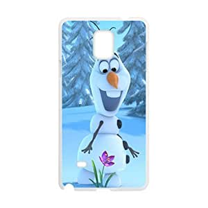 Frozen fresh snow doll Cell Phone Case for Samsung Galaxy Note4