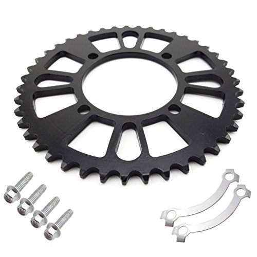 XLJOY 420 76mm 43 Tooth Rear Sprocket for 125cc 140cc 150cc 160cc IMR SSR CRF50 Pit Dirt Bike