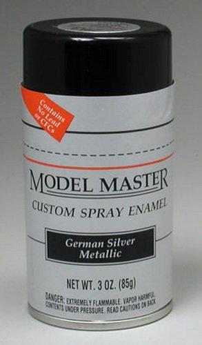 Testors Model Master Automotive Enamel German Silver Metallic Spray