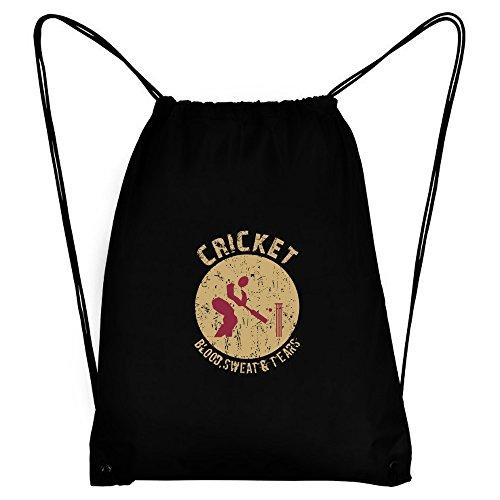 Teeburon Cricket blood sweat tears Sport Bag by Teeburon