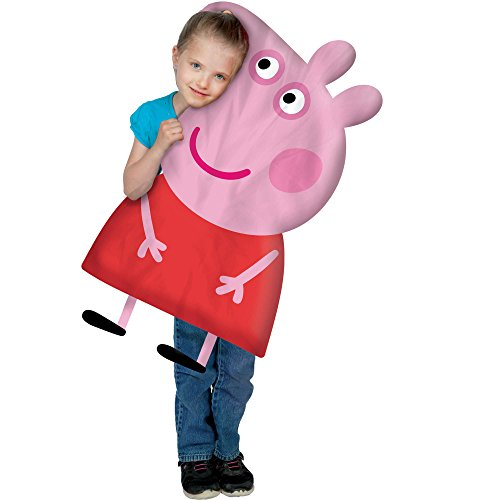 Peppa Pig Polyester JUMBO Kids 3D Pillow Buddy (Evil Fairy Tale Characters)