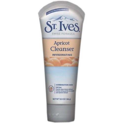 St. Ives Swiss Formula Apricot Radiance Deep Cleaning Cream Cleanser Oil Free 184g/6.5oz