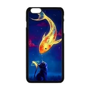 Custom Fish Unique IPhone6 Plus Protective Plastic Cover
