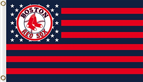 Five Star Flags New Boston Red Sox Flag, Red Sox Flag, Flag for Indoor or Outdoor Use, 100% Polyester, 3 x 5 Feet.