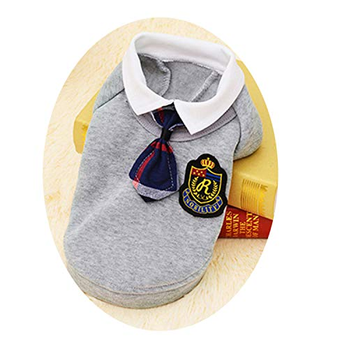 School Style Pet Dog Clothes Cat Chihuahua Clothing Dress Pugs Puppy Coat Outfit for Small Dog Clothes Ro -