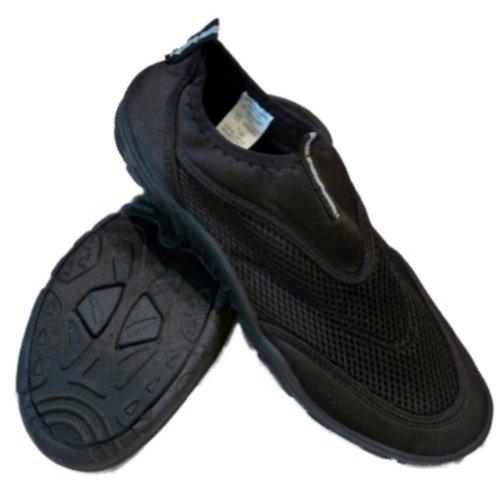 Glissière Noire De Surf Bay Mens Sur Aqua Chaussettes Plage Et Chaussures De Leau