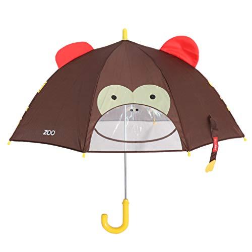 SM SunniMix Lovely Cartoon 3D Animal Children Umbrella for Kids Students Cute Umbrella - Monkey, 60cm