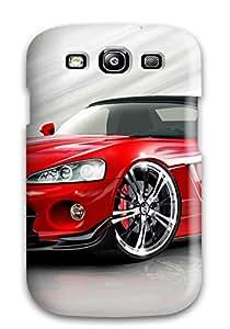 For Galaxy S3 Tpu Phone Case Cover(dodge Viper 13)