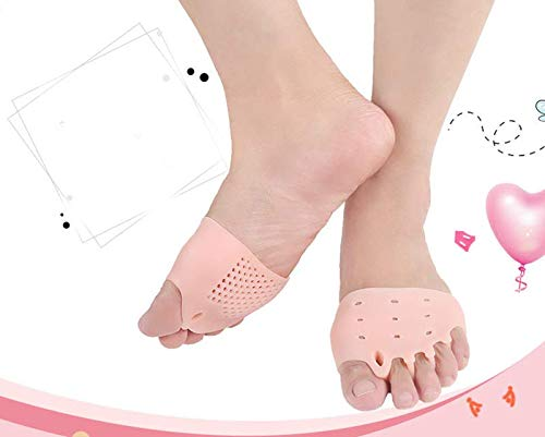 MeToe Toe Separators, Premium Bunion Corrector made of Non-Allergic Medical Soft Gel, Toe Stretchers for Adults Perfect for Yoga, Spa & Exercises, Bunion Pain Relief, Hammer Toe Straightener