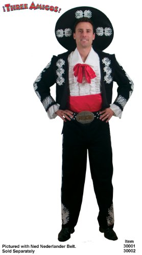 The Three Amigos Deluxe Adult Costume (Amigo Costume)
