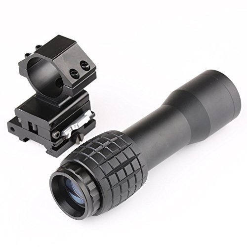 Briday 5X Magnifier FTS Flip to Side for Similar Scopes Sights Aimpoint