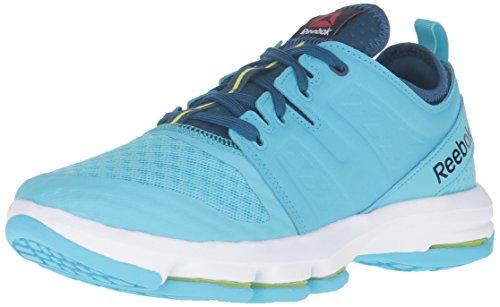 beb89bf1c6 Reebok Women's Cloudride Dmx Walking Shoe, Crisp Blue/Noble - Import It All