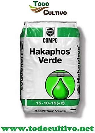 Todo Cultivo Hakaphos® Verde Fertilizante. Saco de 25 Kilos. Abono ...