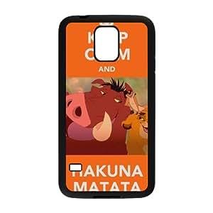 Keep Calm and Hakuna Matata Cell Phone Case for Samsung Galaxy S5