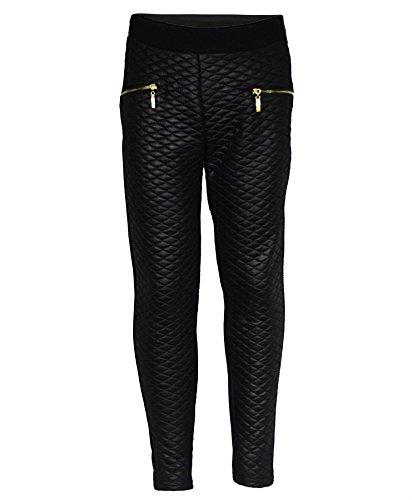 LotMart Girls Blazer Bundle Textured Leggings Style 3 in Mint Black 5-6 Y by LotMart (Image #2)'
