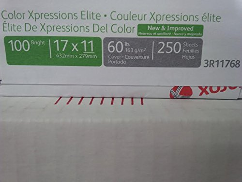 (Xerox Xpressions Elite, 60 lb. Cover, Ultra Smooth, 17
