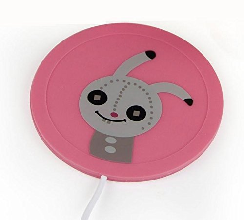 eSmart Cute Soldier Rabbit Cartoon Hot Office Desk Cup Warme