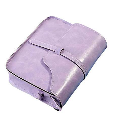 - Women Bags Clearance Sale Vintage Purse PU Leather Cross Body Shoulder Messenger Bag
