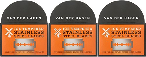 Van Der Hagen Ice Tempered Double Edge Stainless Steel Razor