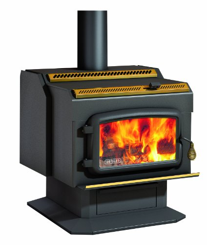 Drolet High-Efficiency Wood Stove - 95,000 BTU, Model# HT2000 (Best Wood Pellets For Heating)