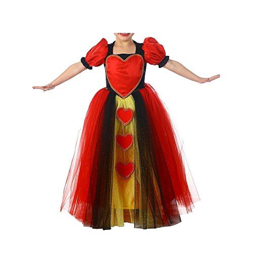 Optical Illusion Dress Costume (ompson Queen of Hearts Costume - Small as pictureSmall)