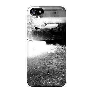 Iphone 5/5s Case Bumper Tpu Skin Cover For Black White Best Friends Accessories
