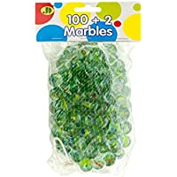 Glass Cats Eye Marbles - Pack of 16