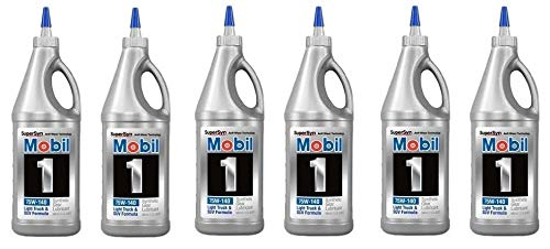 Oil Mobil Arctic (Mobil 1  102490 75W-140 Synthetic Gear Lube - 1 Quart (6))