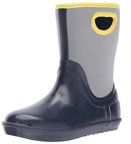 UGG Kids K Kex Rain Boot, Navy, 4 M US Big Kid (Boots Ugg Blue Kids)
