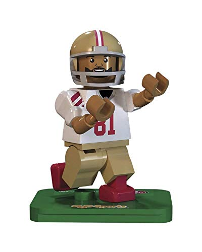 OYO NFL GEN3 San Francisco 49ers Anquan Boldin Limited Edition Minifigures, Red, Small (San Francisco 49ers Limited Edition Football)