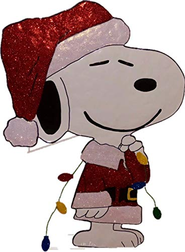 Peanuts Snoopy Outdoor Lighted Christmas Decoration in US - 9