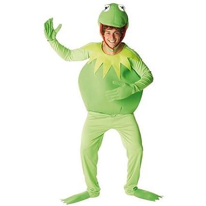Muppets - Disfraz de rana Gustavo para hombre, talla XL (889802XL1)