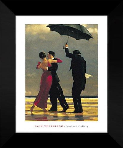 - Jack Vettriano Framed Art Print 16x20