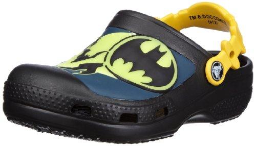 Crocs Batman Custom Clog Kids Boys Shoes Designer Schoenen - Zwart