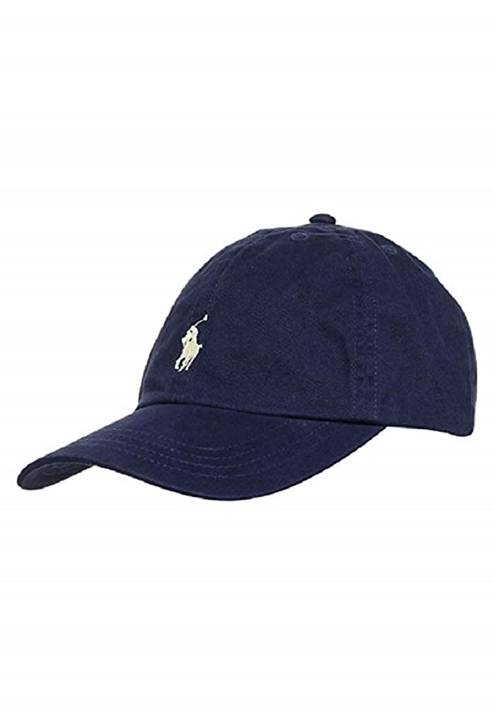 RALPH LAUREN POLO MENS CLASSIC GREY, NAVY, KHAKI, RED, WHITE CAP ONE SIZE
